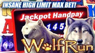 THIS WAS INSANE AN INSANE HIGH LIMIT SLOT ADVENTURE ⋆ Slots ⋆ WOLF RUN JACKPOT ⋆ Slots ⋆ $40 BETS!