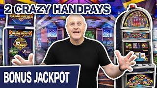 ⋆ Slots ⋆ 2 CRAZY Games, 2 CRAZY Handpays ⋆ Slots ⋆ Lucky Leprechaun & Regal Riches FTW!