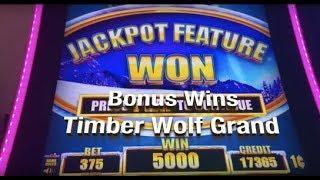 TIMBER WOLF GRAND - 2 bonus wins