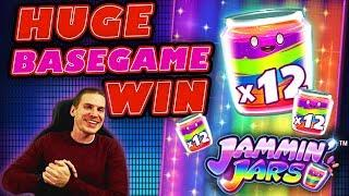 Base Game Madness on Jammin' Jars Slot - HUGE WIN!