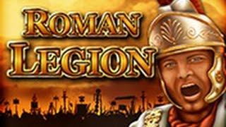 Bally Wulff Roman Legion | Schönes Bild im Basegame 50 Cent Einsatz | Big Win!