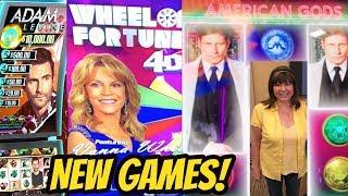 NEW GAMES-WHEEL OF FORTUNE 4D-ADAM LEVINE-AMERICAN GODS