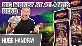 ⋆ Slots ⋆ BIG HANDPAY at Atlantis Reno ⋆ Slots ⋆ High-Limit Jinse Dao Slots Pays Off!