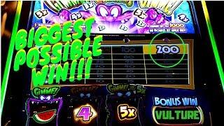 BIGGEST WIN ON YOUTUBE On Gimmie Gimmie Gimmie Slot Machine Max Bet Bonus!!!
