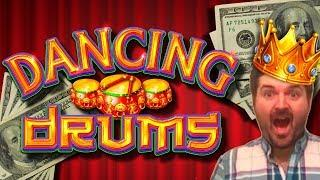 I FOUND DANCING DRUMS IN THE HIGH LIMIT ROOM! YES!!! Slot Machine Bonuses and LIVE PLAY • sdguy1234