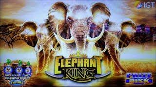 AN ELEPHANT HERD on ELEPHANT KING SLOT + CELESTIAL SUN RICHES SLOT POKIES BONUSES