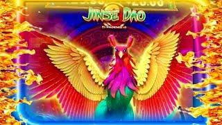 JINSE DAO•3 SLOTS AT ONCE•FEATURE AND BONUS•CASINO GAMBLING!