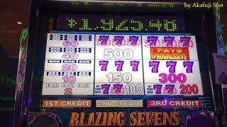 Jackpot Live!! BLAZING 7s [Hand Pay]• I deleted the sound by copyright issue and re-uploaded it •