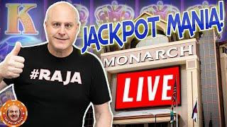 • LIVE MEGA JACKPOT$ INCOMING! • Mega WIN$ from The Monarch Casino!