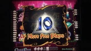 Crystal Forest Big Bonus Jackpot with Double Bonus Features