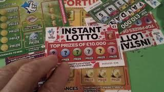 BIG £40,00 Scratchcard game...Fruity Fortune..Instant Millionaire..GOLDFEVER..Instant £100.Payday.