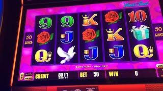Live slot machine play - decent wins on Lightning Link