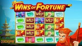 Wins of Fortune Online Slot from Quickspin