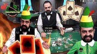BLACKJACK HIGH STAKES £2,000 VS Live Casino Dealer CEZAR! The LORD of the SUITED TRIPS at Mr Green
