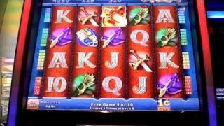 Crimson Fire King Kong Cash Bonus Win Penny Slot Machine