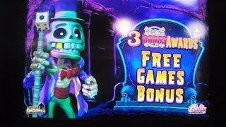 Roll The Bones NEW SLOT MAX BET BIG WIN Free Games Slot Machine Bonus Round Win