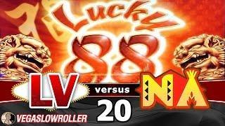 Las Vegas vs Native American Casinos Episode 20: Lucky 88 Slot Machine