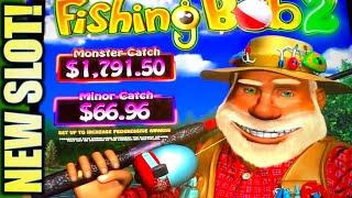•NEW SLOT!• GOING COUNTRY & FISHING WITH BOB! • (FISHING BOB 2) Slot Machine Bonus (IGT)