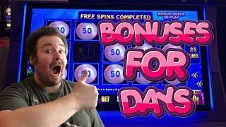 A Collection of Slot Machine Bonus Rounds and Huge Wins Vol. 15