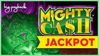 JACKPOT HANDPAY! Mighty Cash Double Up Infinite Jade Slot - UP TO $45/SPIN BETS!