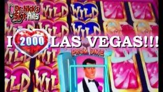 **I LOVE LAS VEGAS AND BIG WINS!!!**  HEART THEMED SLOT MACHINES