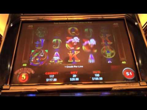 Grand dragon high Limit slots bonus w retrigger