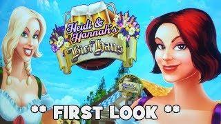 Heidi & Hannah's Bier Haus - My First Look!