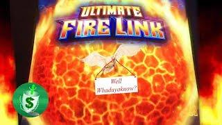 Ultimate Fire Link slot machine, Whadayaknow
