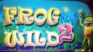 Frog Wild 2 classic slot machine, DBG