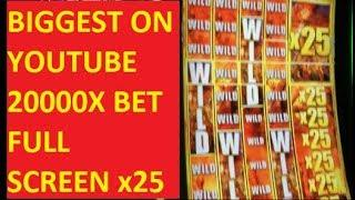 BIGGEST WALKING DEAD 2 WIN ON YOUTUBE!!! 20000x BET!!! 300 LINES FULL SCREEN WILDS 25X!!!