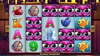 MISS KITTY GOLD Video Slot Casino Game with a MISS KITTY RESPIN BONUS