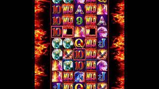 RUMBLE RUMBLE Video Slot Casino Game with a RETRIGGERED RUMBLE RUMBLE FREE SPIN BONUS