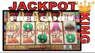 Tiki Torch Slot ***JACKPOT HANDPAY*** Free Games Awesomeness!!