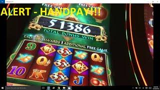ALERT!! HANDPAY - GIGANTIC Bacon Wrapped Titties Fu Dao Le Bonus Win