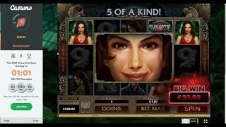 Online Slot Bonus Compilation - Flame Dancer, Lost Island and More