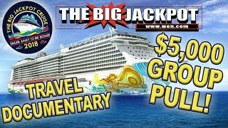 $5,000 GROUP PULL at SEA!! •️ THE BIG JACKPOT CRUISE Travel Documentary!