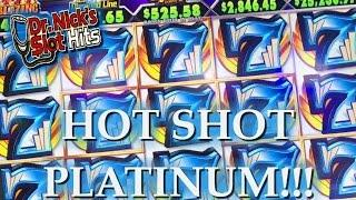 **NEW GAME!!!/NICE BONUSES!!!** Hot Shot Platinum Slot Machine & Others