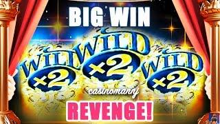GOLD BONANZA SLOT *BIG WIN* | REVENGE! - 2 GAMES (All Features) - Slot Machine Bonus