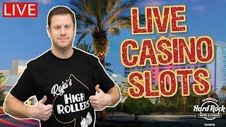 ⋆ Slots ⋆ Live Slots at The Hard Rock Tampa ⋆ Slots ⋆ Lock It Link - Huff N Puff vs Piggy Bankin vs Eureka Blast