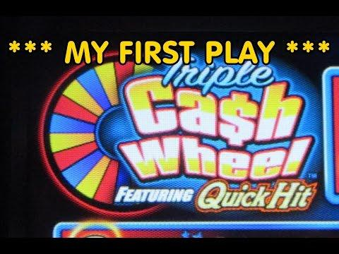 Bally - Triple Cash Wheel Quick Hits *** My First Play ***