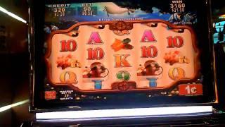 Fortunes Deep slot machine bonus win with retrigger