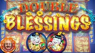 •BIG BET$! •Double Blessings High Limit Slot Play •