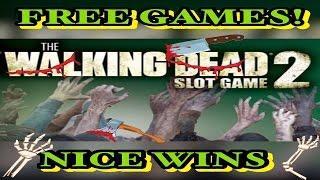 ***THE WALKING DEAD 2** FREE GAMES | BIG LINE HIT!