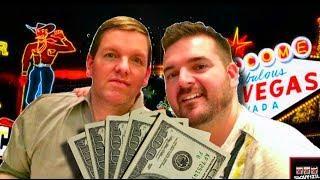 AMAZING CASINO RUN! Brent and SDGuy WIN BIG!!!