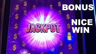Wheel of Fortune: Jackpot Paradise max bet with Jackpot Bonus and NICE WIN Slot Machine Live Play