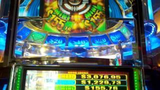 pt 1 of 2 KONAMI Legion warrior TITAN 360 STATION 4 HUGE WIN! Bonus free spin round!!