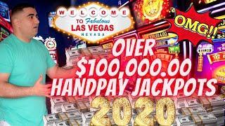 Over $100,000 Handpay Jackpots On Slot Machines In 2020 | Most Popular Slot Machines | Las Vegas