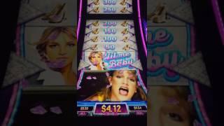 Baby One More Time Wheel bonus - Britney Spears Slot