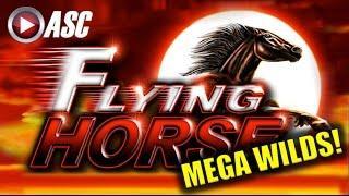 *MEGA WILDS* FLYING HORSE | Ainsworth (Sweet Zone) Big Win! Slot Machine Bonus