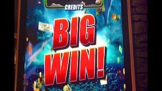 •SHARKNADO SLOT•BIGGEST SLOT MACHINE- SO TALL! •BONUS WIN•GIMMIE GAMES/ARISTOCRAT